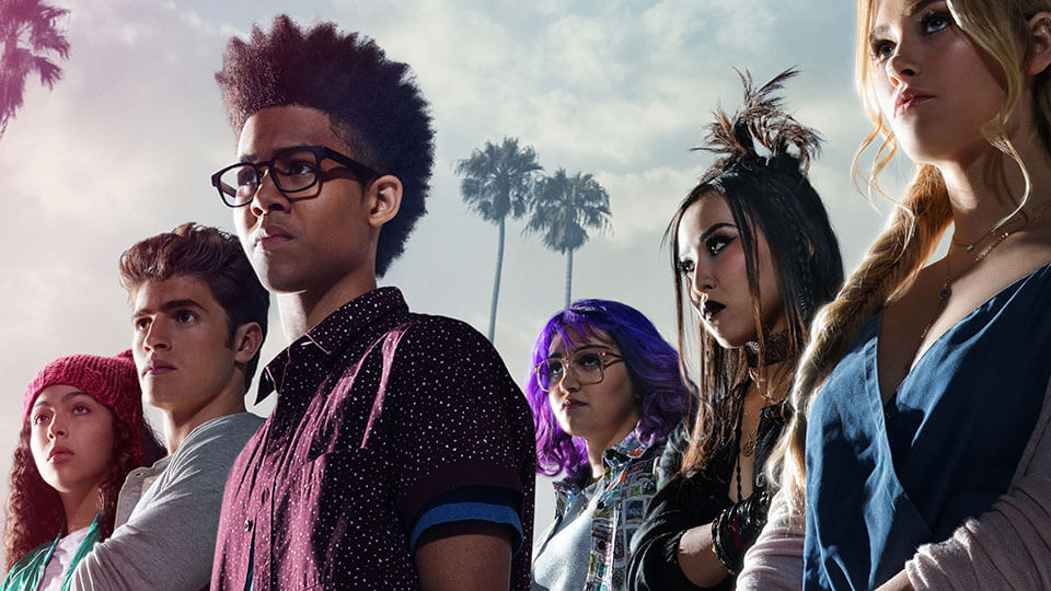 The cast of Marvel's Runaways.