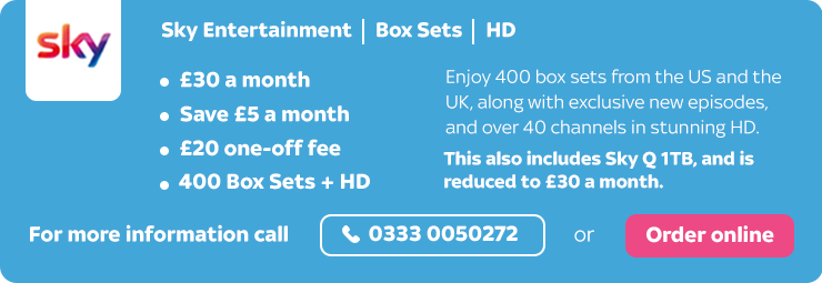 Sky Entertainment with Box Sets and HD offer