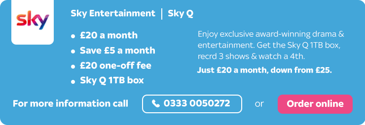 Sky Entertainment & Sky Q Offer