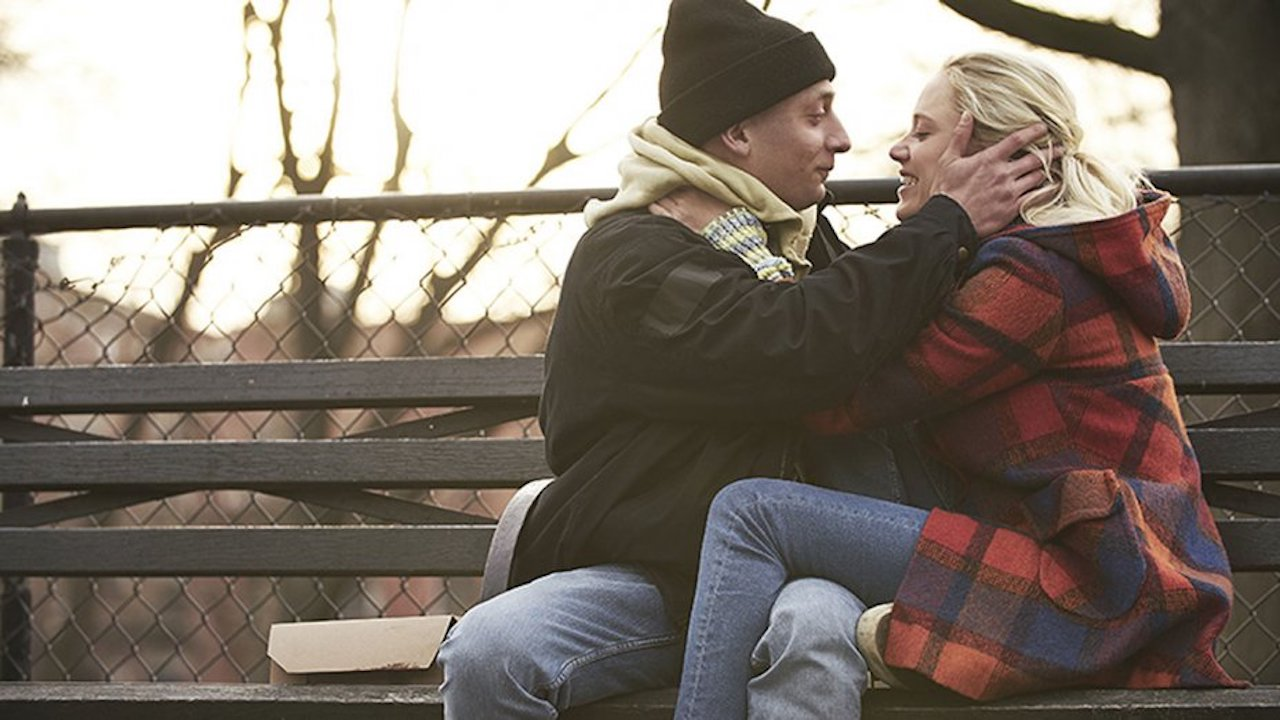 Jeremy Allen White and Maika Monroe in Eternal Love (After Everything)