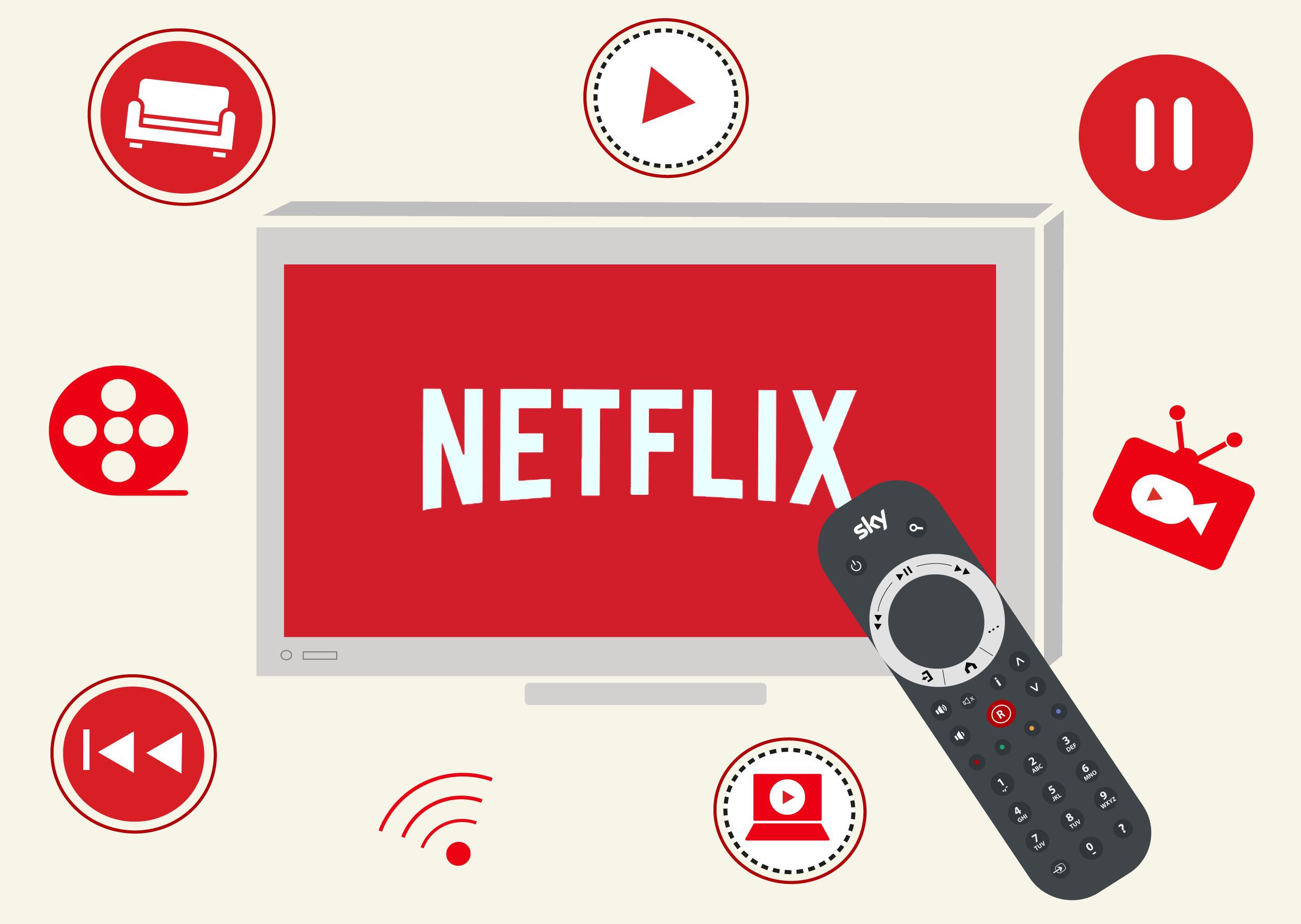 Netflix on Sky | How to Stream Netflix with Sky TV | Digital TV
