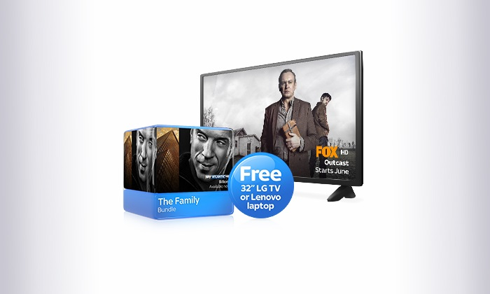 Free 32-inch LG TV or Lenovo Laptop With New Sky TV Orders