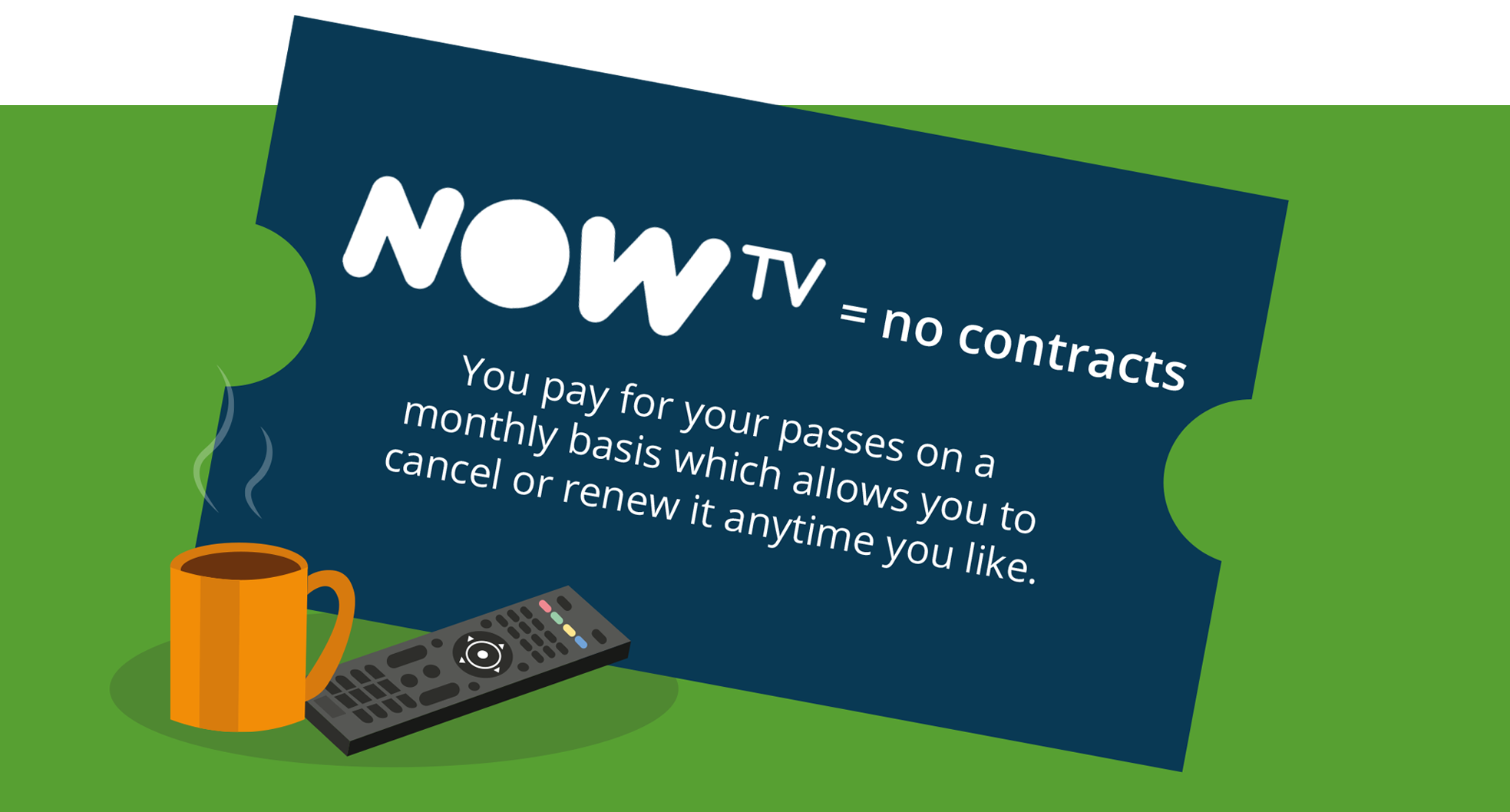 NOW TV monthly passes